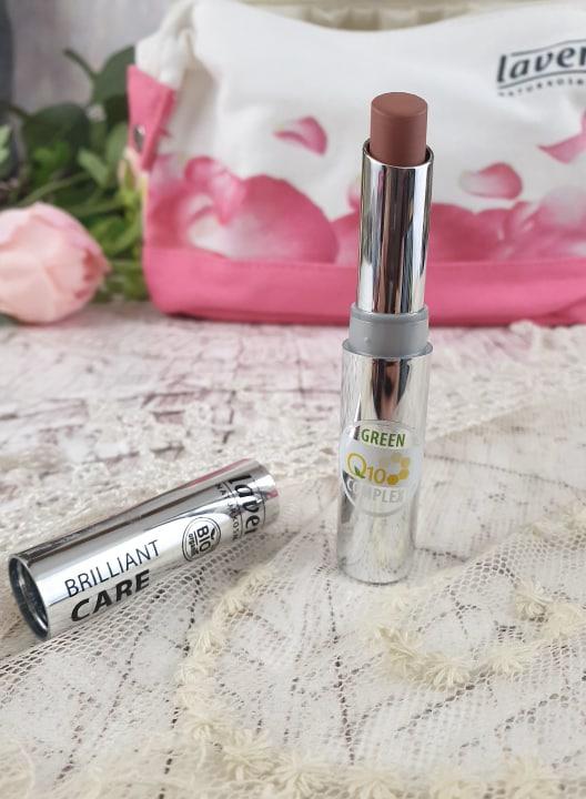 Lavera Brilliant Care Lipstick Q10 - Light Hazel