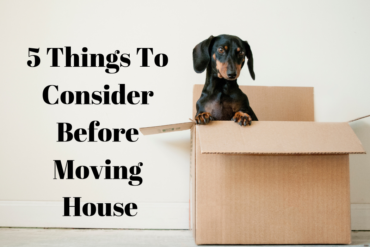5 Things To Consider Before Moving House