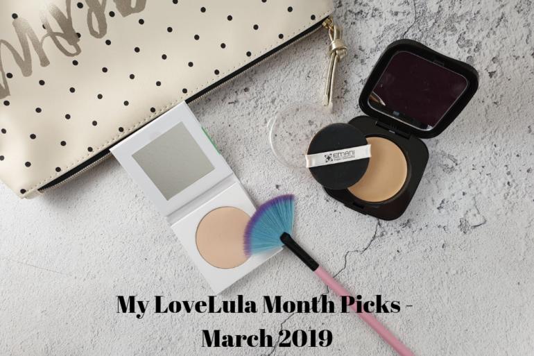 My LoveLula Month Picks - March 2019