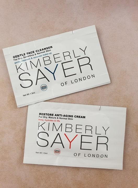 Kimberley Sayer samples