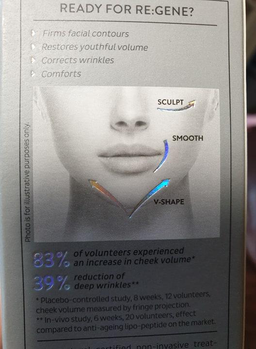 V-shaped contour
