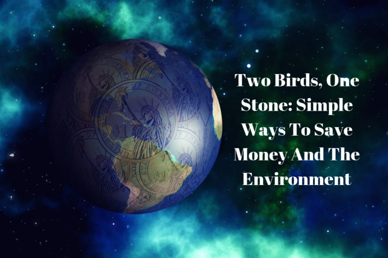Two Birds, One Stone: Simple Ways To Save Money And The Environment