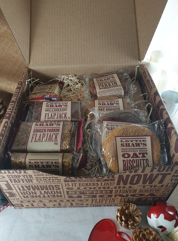 Hamper Box of Individual Treats