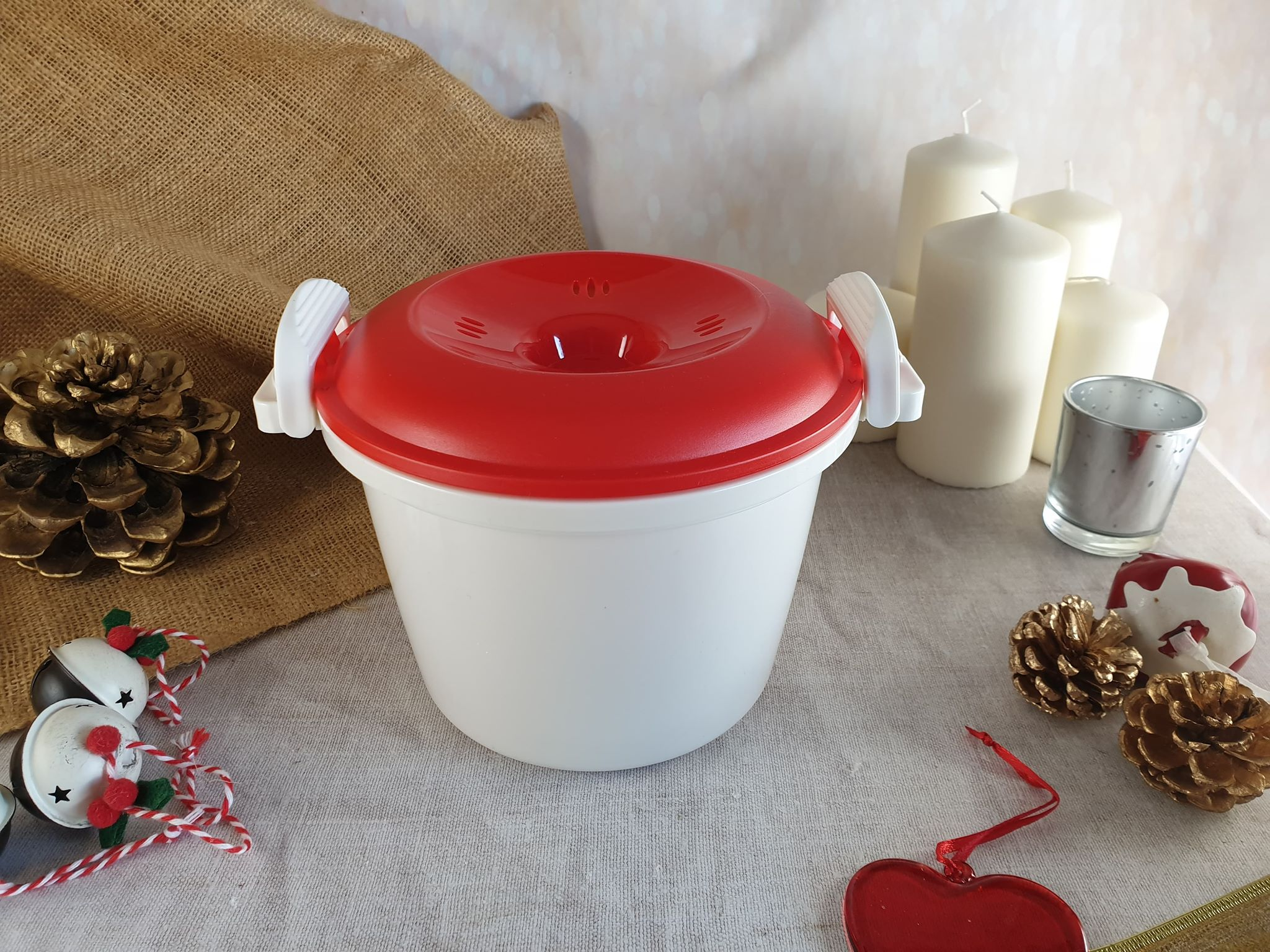 3. Kitchen Craft 1.5 Litre Microwave Rice Cooker
