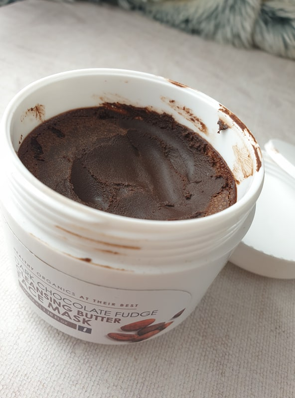 dark chocolate fudge cleansing butter face mask - Natures Kitchen