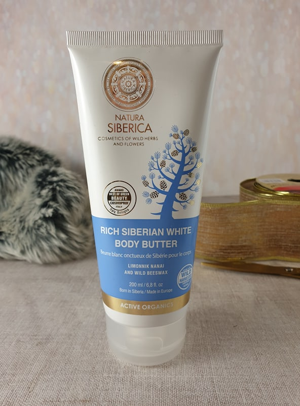 Rich Siberian White Body Butter Natural Siberica