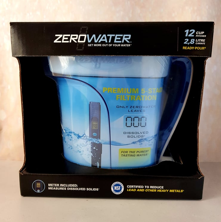 ZeroWater Premium 5 Stage Filtration Pitcher