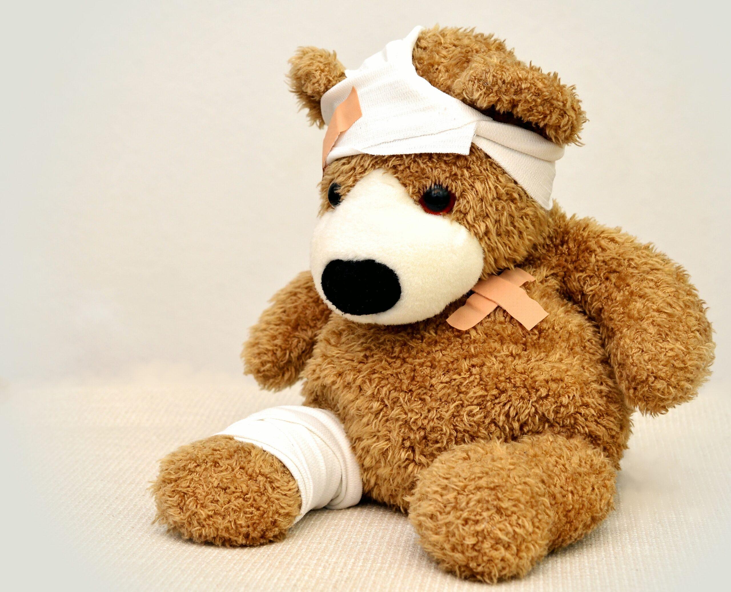 cuddly bear - illness
