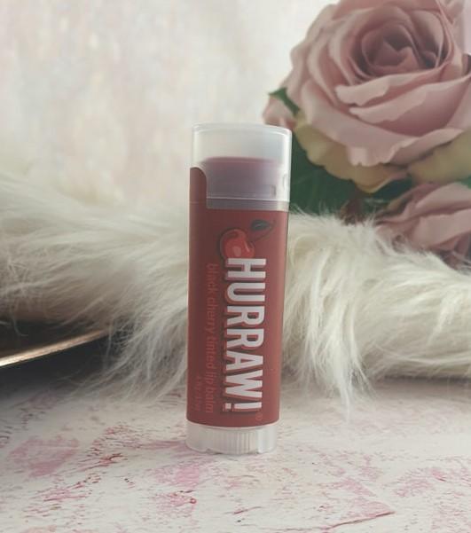 Hurraw Black Cherry Tinted Lip Balm
