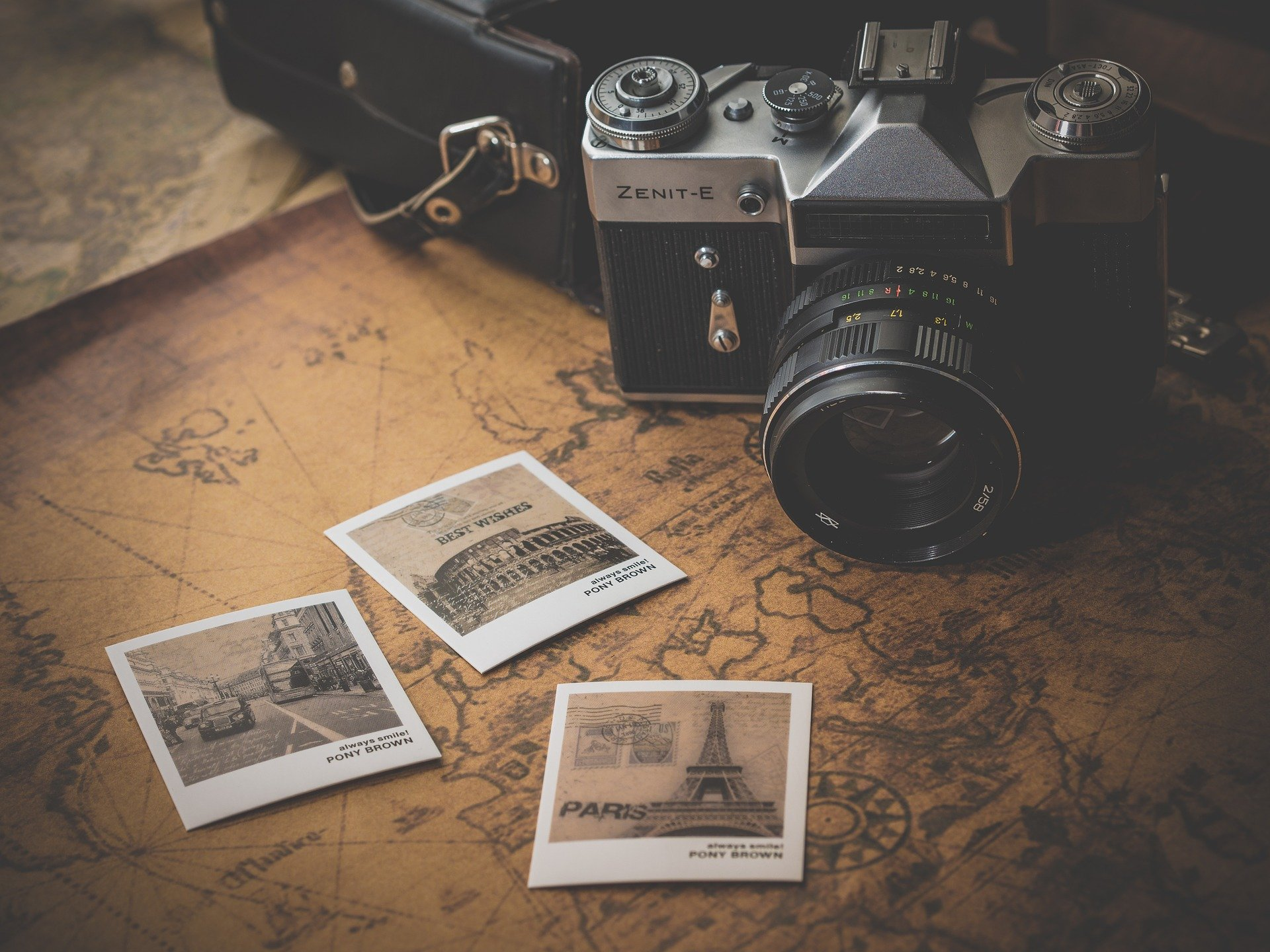 old sepia travelling