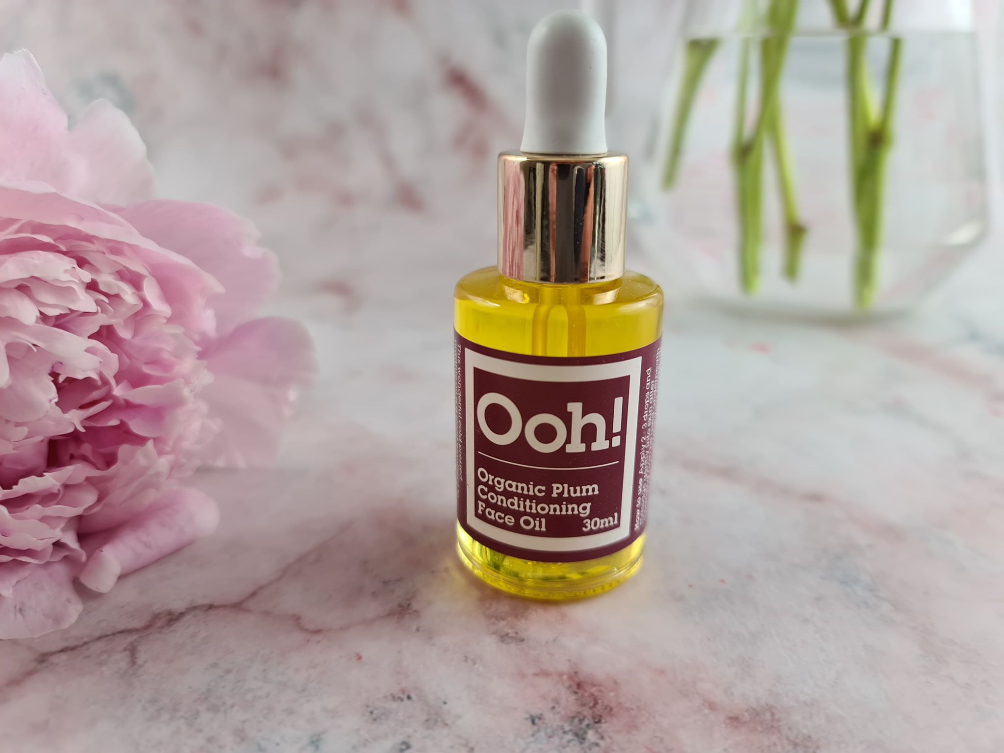 Ooh! - Oils of Heaven Organic Plum Conditioning Face Oil
