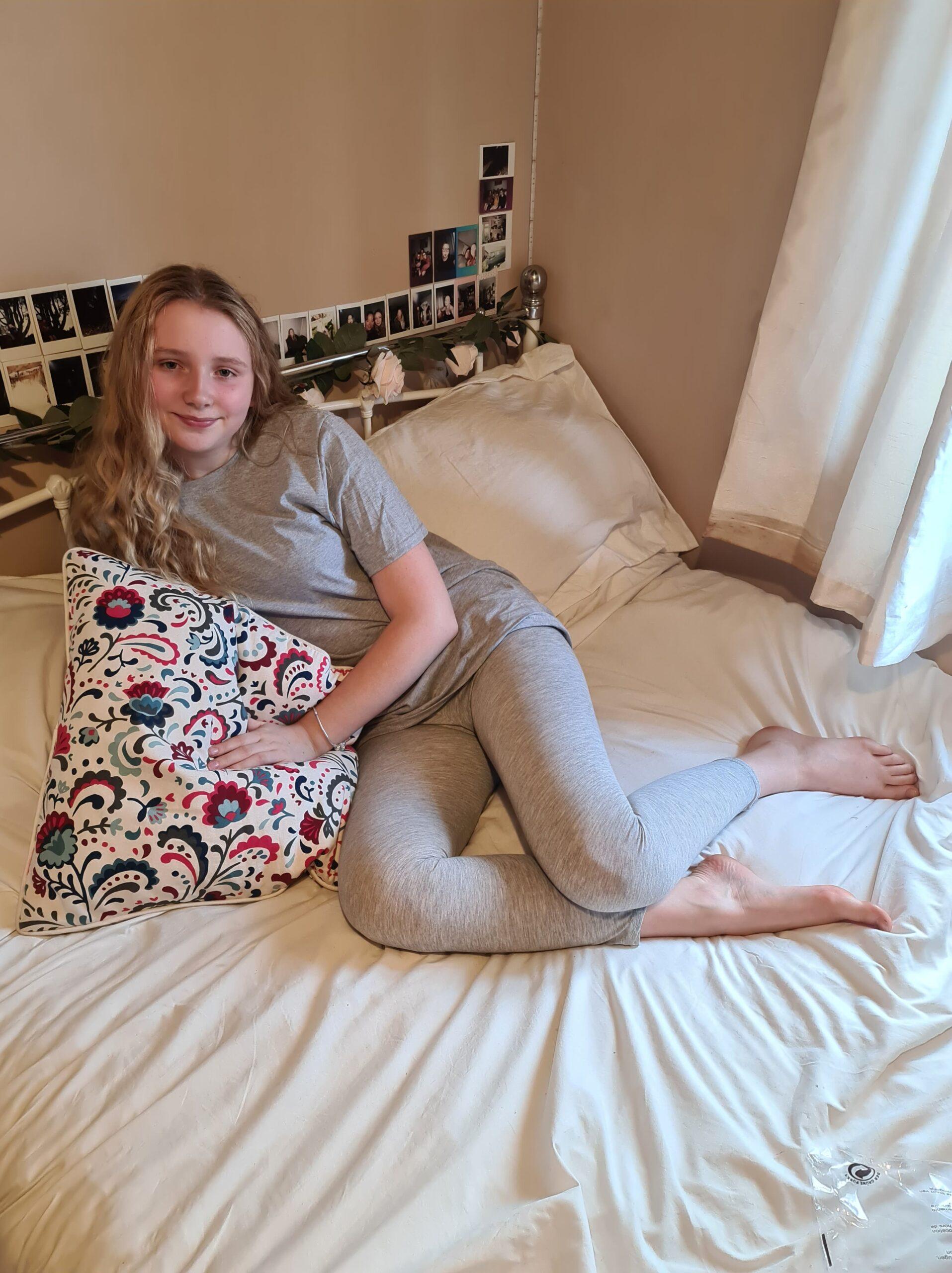 femme luxe grey loungewear set