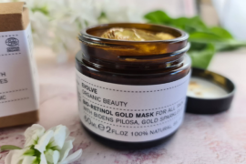 Bio-Retinol Gold Face Mask by Evolve review