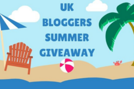 UK Bloggers Huge Summer Blogger Giveaway!