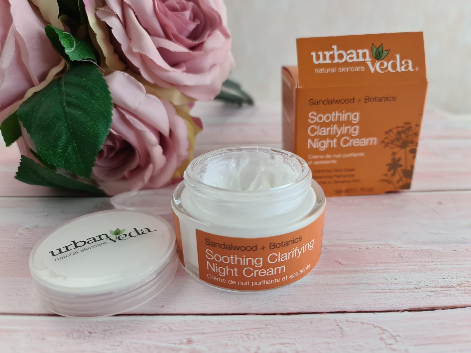 UrbanVeda Soothing Clarifying Night Cream