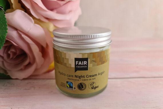 Fair Squared Hydro Care Night Cream Argan - Zero Waste