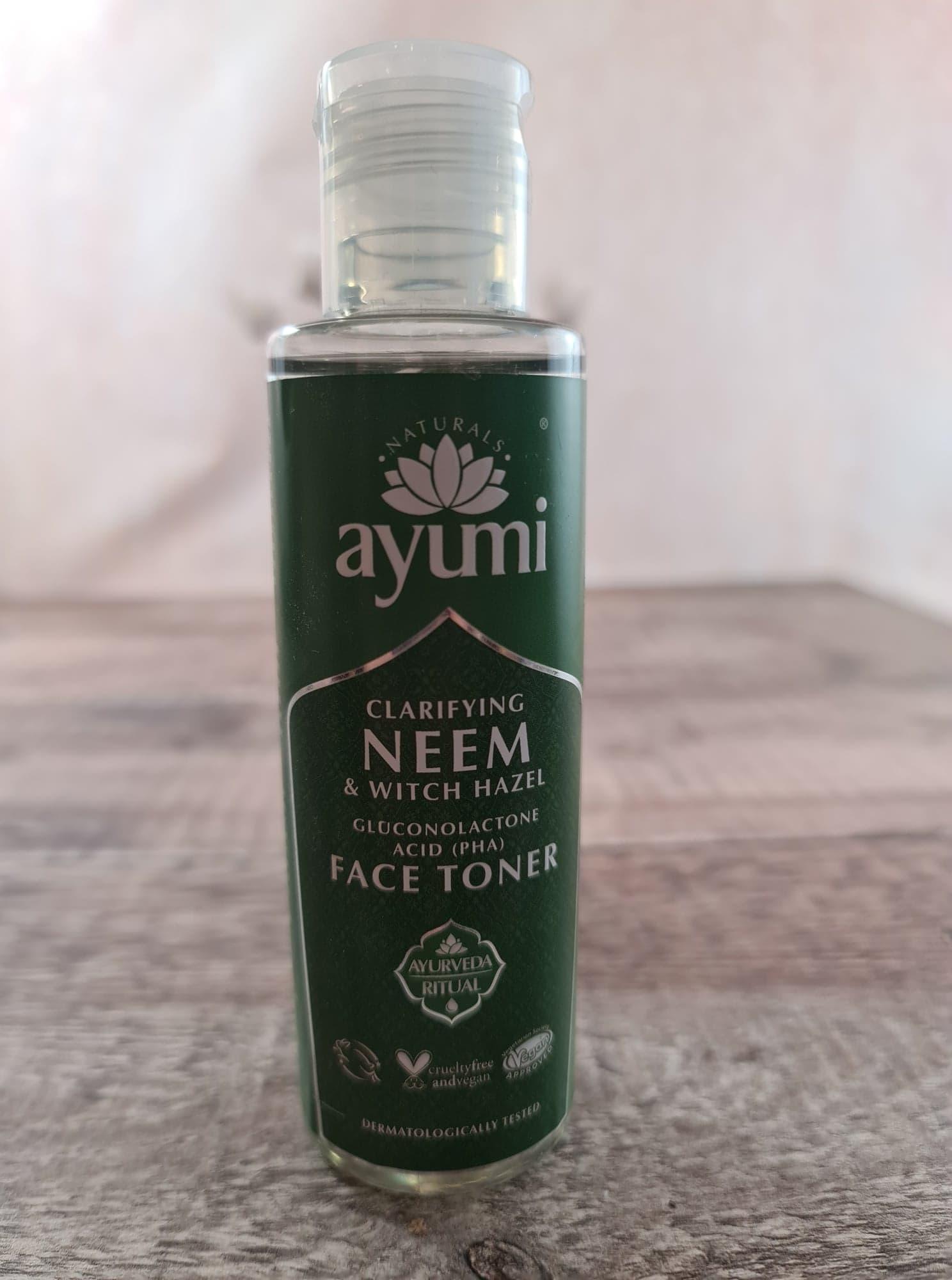 Ayumi Clarifying Neem & Witch Hazel Toner