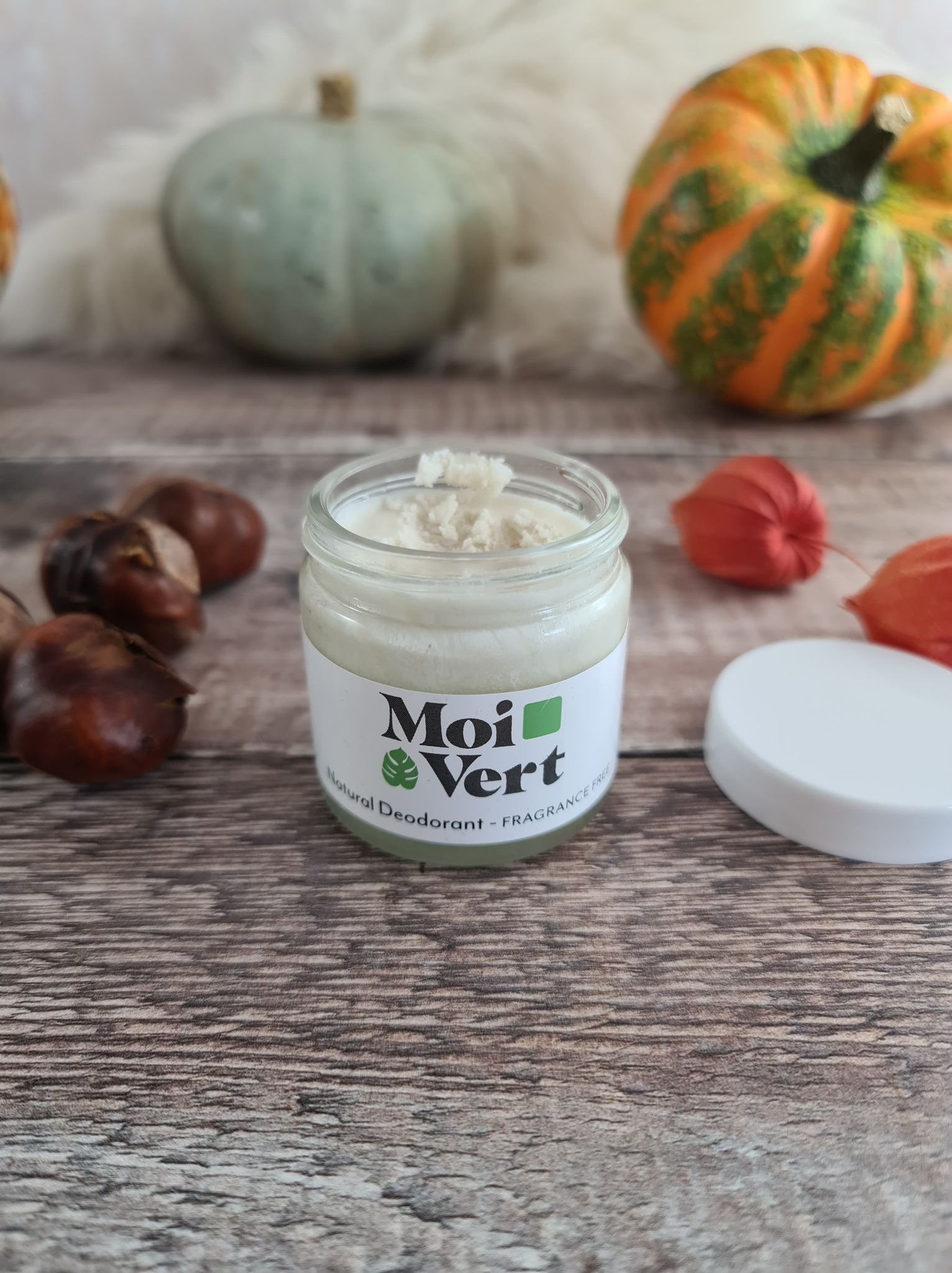 Moi Vert Natural Deodorant - Fragrance Free review