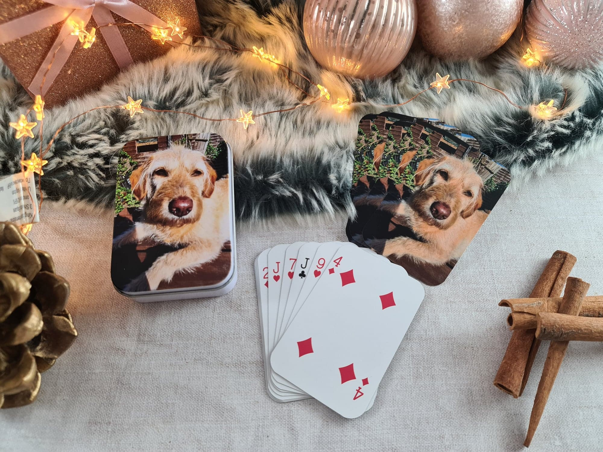 personalised playing cards from Proper Goose