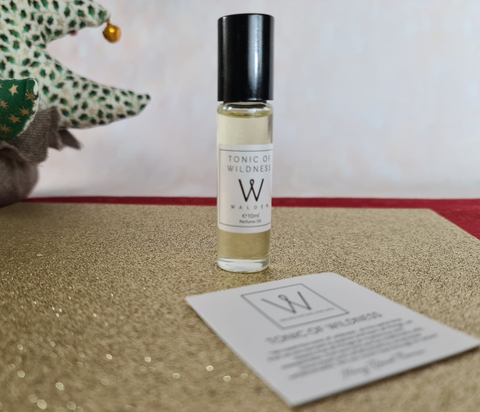 Walden 'Tonic of Wildness' Natural Perfume Oil