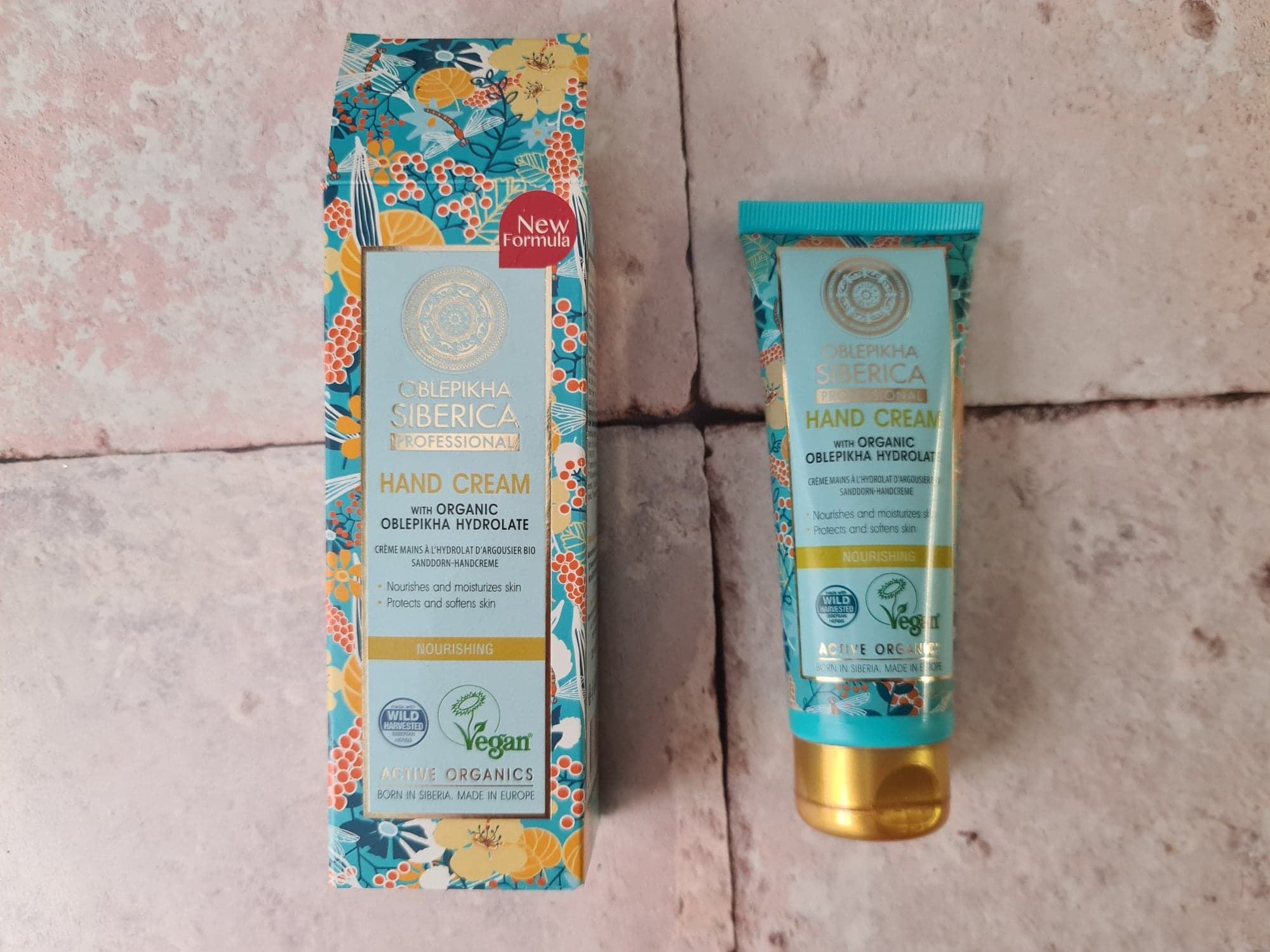 Natura Siberica hand cream review