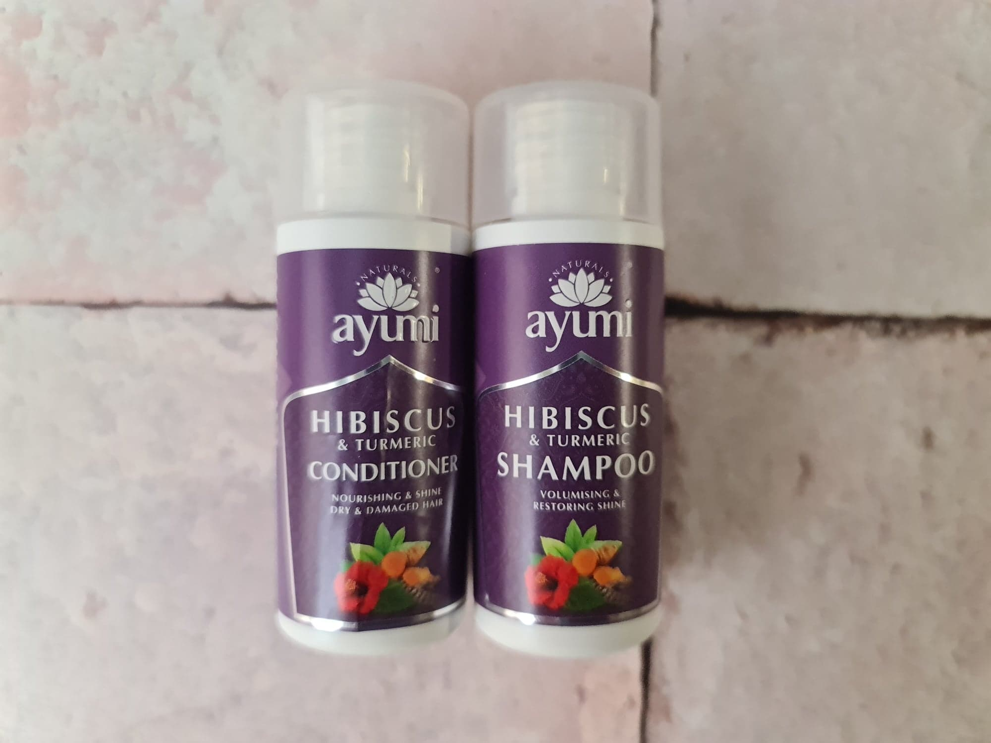Ayumi travel duo shampoo and conditioner review