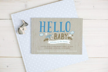 Birth Announcement Cards For Your Baby