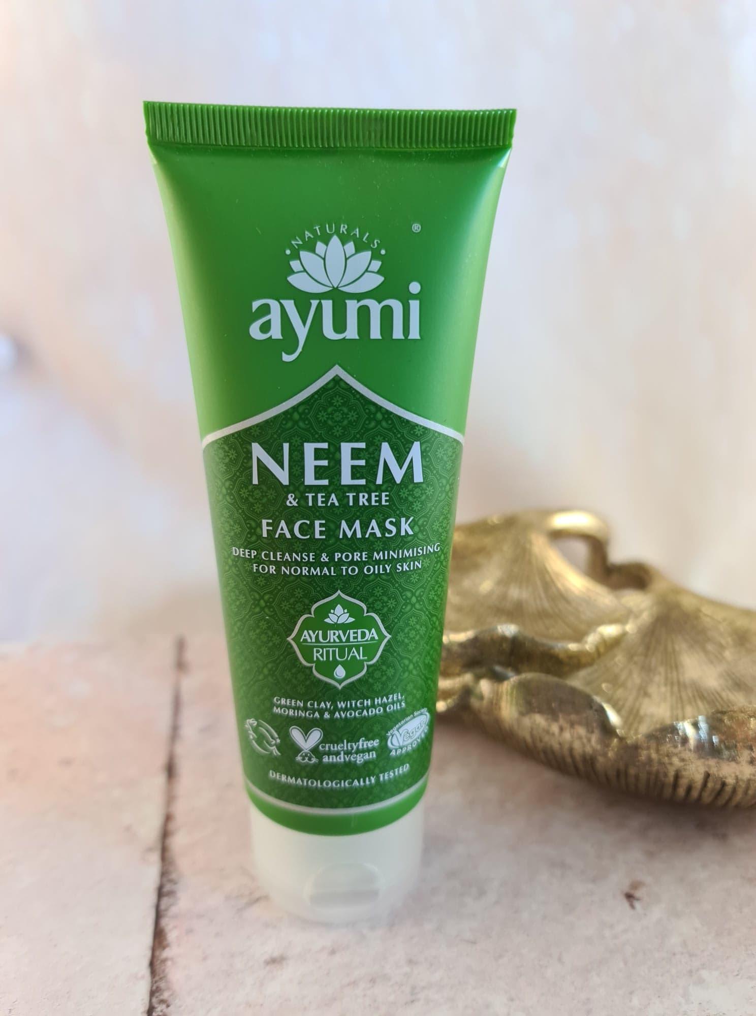 Ayumi Neem & Tea Tree Face Mask