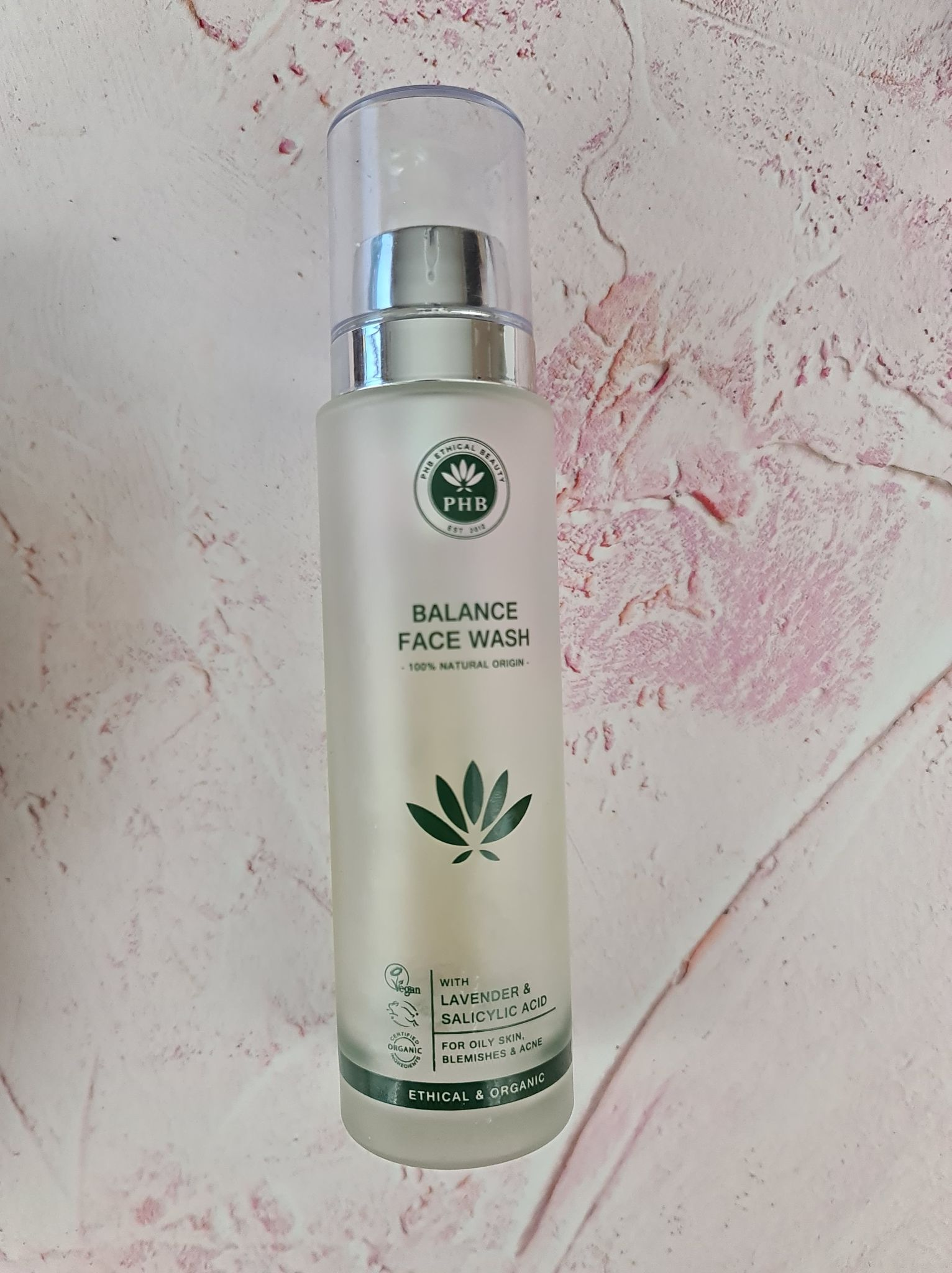 PHB Ethical Beauty - Balance Face Wash 100ml review