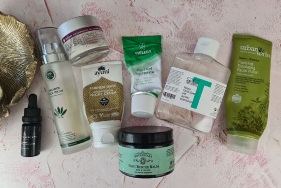 My March 21 Green Beauty Empties