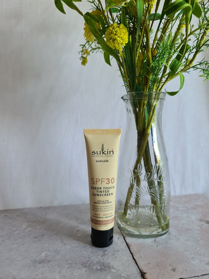 Sukin SPF30 Sheer Touch Face Sunscreen
