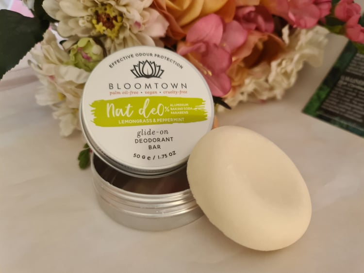 Bloomtown Natural Deodorant Bar - Lemongrass & Peppermint review