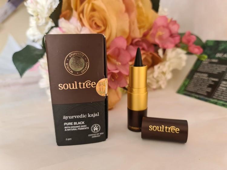 Soul Tree Eye Kajal - Pure black review