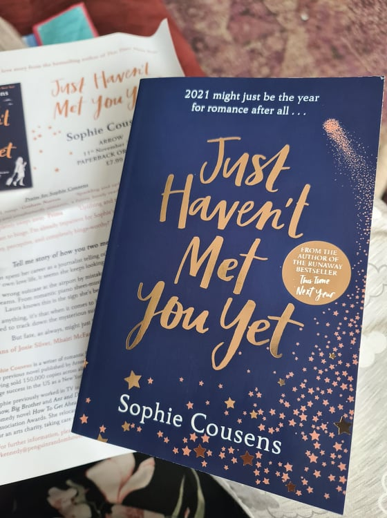 Just Haven't Met You Yet by Sophie Cousens review