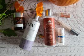 My October 2021 Clean Beauty Empties
